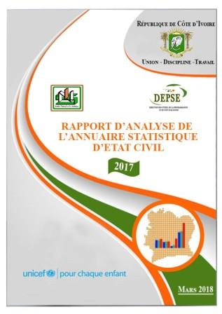 Rapport d'analyse annuaire 2017