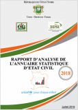 Rapport d'analyse annuaire 2018